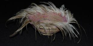 Basket of Emu feathers. Side view. 2016. Sally Stoneman